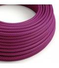 Vertigo električni tekstilni kabel - fuksija & ljubičasti Flex ERM50