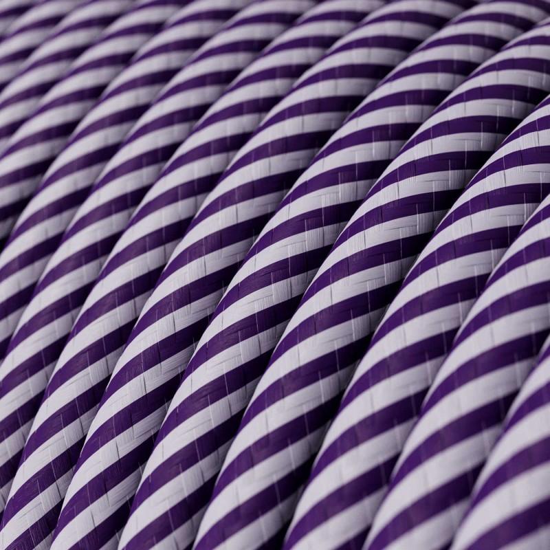 Vertigo električni tekstilni kabel - lila & ljubičasti Flex ERM52
