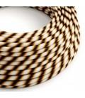 Vertigo električni tekstilni kabel - HD Mr Brown Flex ERM61