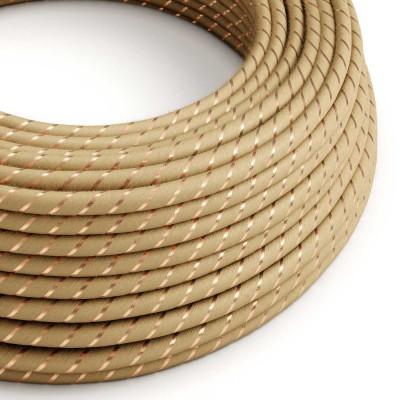 Vertigo električni tekstilni kabel - juta & bakar Flex ERR04