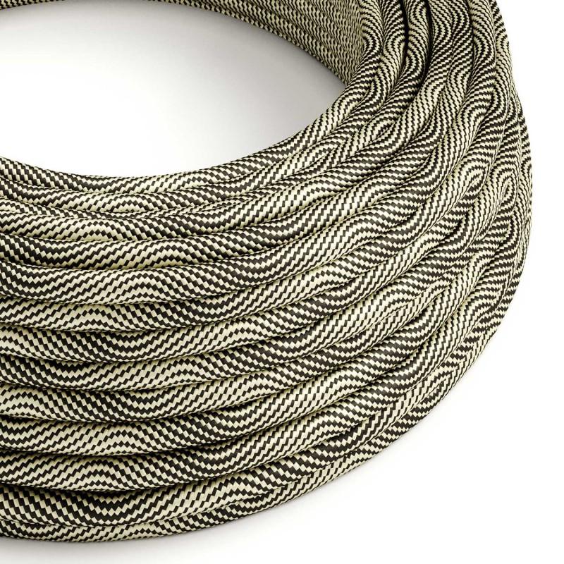 Vertigo električni tekstilni kabel - HD crno & zlatno Flex ERM65