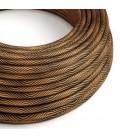 Vertigo električni tekstilni kabel - crno & bakar Flex ERM66