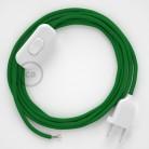 Komplet s prekidačem RM06 Zeleni - 1,8 m. odaberite boju prekidača i utikača!