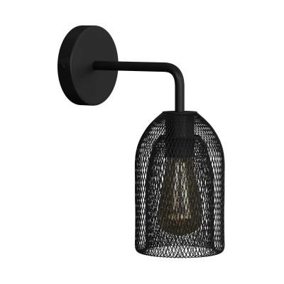 Fermaluce Urban metalna zidna lampa s Ghostbell sjenilom i metalnim nosačem