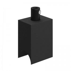 Syntax - Minimalistička crna termoplastična utičnica za S14d linearnu žarulju
