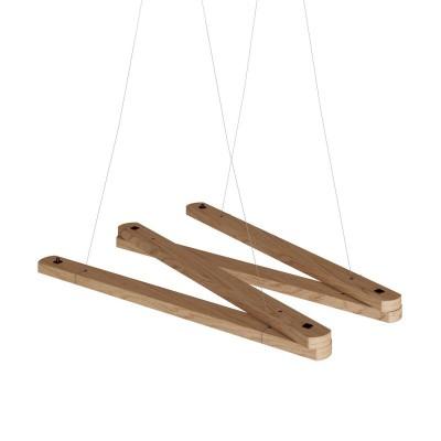 Zigh-Zagh, podesivi drveni stropni nosač za visilicu