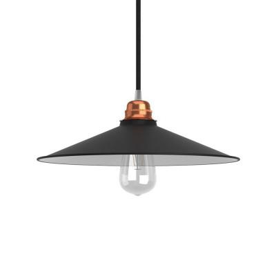 Sjenilo - Swing od poliranog metala s grlom E27