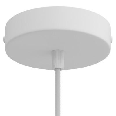 Metalna stropna rozeta s priborom za montažu