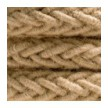 2XL pleteni mornarski električni kabel od jute, 2x0,75. Promjera 24mm.