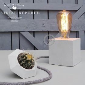 """Marko Lovenjak za Industrial Republic: Betonsko svjetlo """"The Cube"""""""